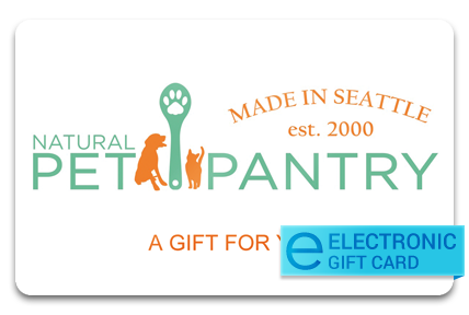 Natural Pet Pantry E-Gift Card