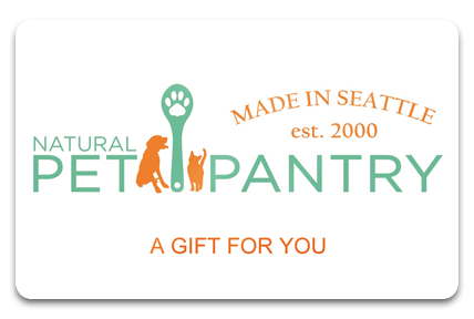 Natural Pet Pantry Physical Gift Card